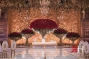 Saint_Regis_Dubai_Wedding_Female_Photographer_Rima_Hassan_stage_kosha_decoration_red_gold