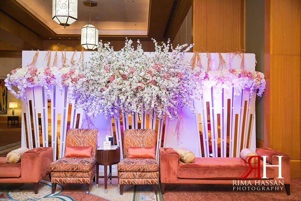 Ritz_Carlton_DIFC_Wedding_Female_Dubai_Photographer_Rima_Hassan_kosha_stage_decoration_entrance