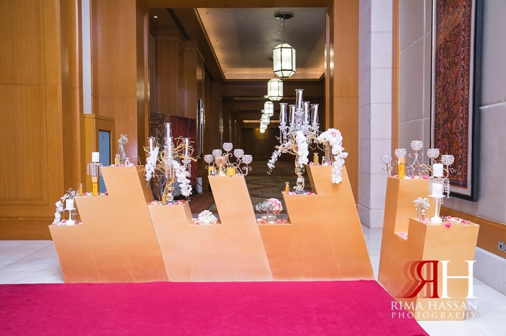 Ritz_Carlton_DIFC_Wedding_Female_Dubai_Photographer_Rima_Hassan_kosha_stage_decoration_perfume_table
