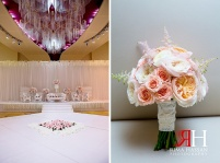 Ajman_Wedding_Female_Photographer_Rima_Hassan_bride_bouquet_stage