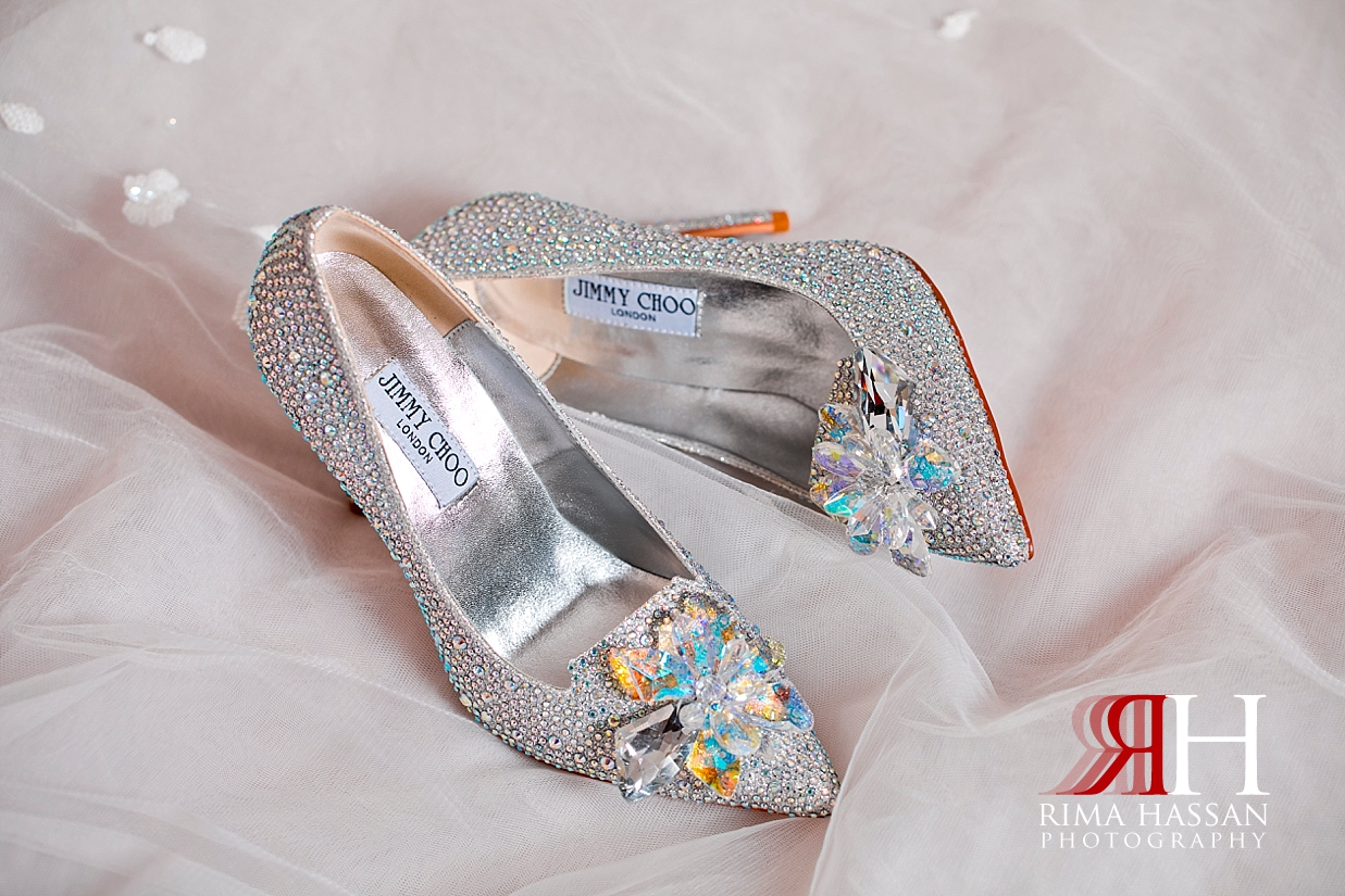 Bustan_Rotana_Dubai_Wedding_Female_Photographer_Rima_Hassan_Bride_shoes_jimmy-choo