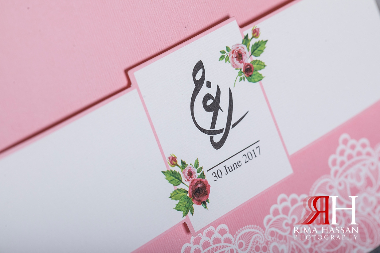 Marriott_Jaddaf_Wedding_Female_Dubai_Photographer_Rima_Hassan_bride_invitation_card