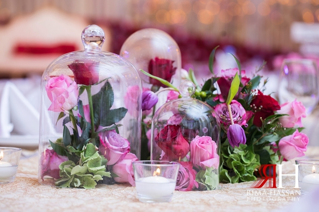 Marriott_Jaddaf_Wedding_Female_Dubai_Photographer_Rima_Hassan_stage_kosha_decoration_flower_centerpiece