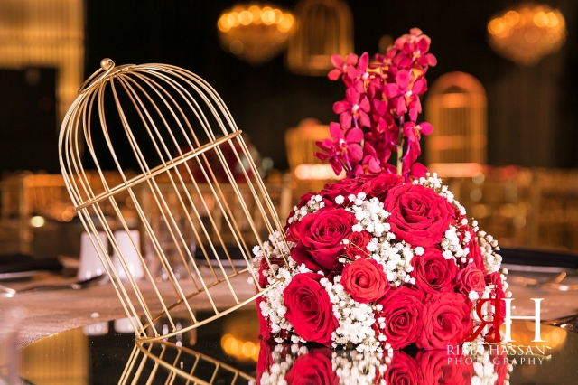 Armani_Burj_Khalifa_Wedding_Female_Photographer_Dubai_Rima_Hassan_stage_kosha_decoration_centerpiece_cage