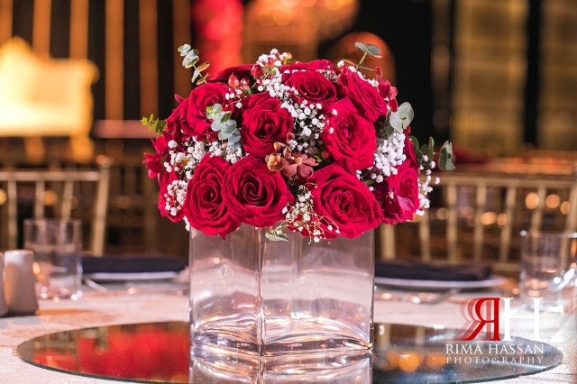 Armani_Burj_Khalifa_Wedding_Female_Photographer_Dubai_Rima_Hassan_stage_kosha_decoration_centerpiece_flowers