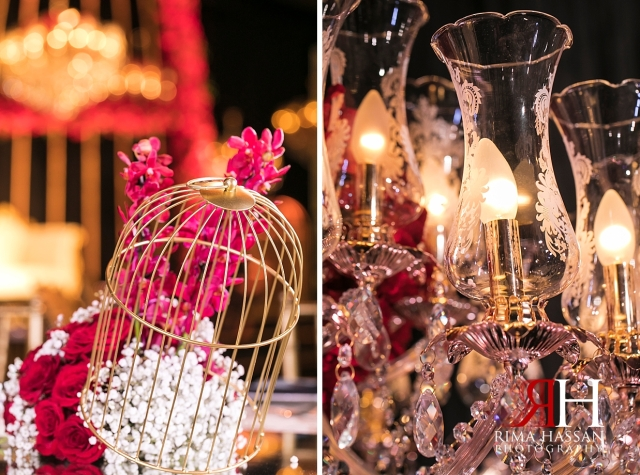 Armani_Burj_Khalifa_Wedding_Female_Photographer_Dubai_Rima_Hassan_stage_kosha_decoration_glass_centerpiece_cage