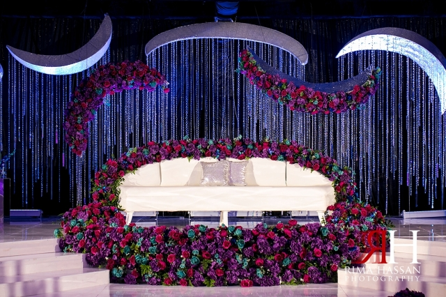 Crown_Plaza_Wedding_Dubai_Female_Photographer_Rima_Hassan_kosha_stage_decoration_ariel
