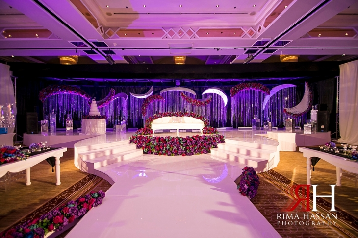 Crown_Plaza_Wedding_Dubai_Female_Photographer_Rima_Hassan_kosha_stage_decoration_ariel_vip