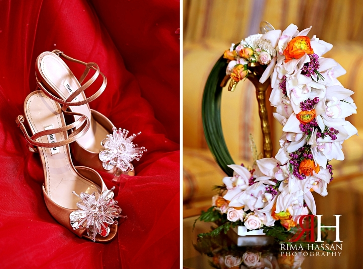 Sharjah_Royal_Engagement_Female_Photographer_Dubai_Rima_Hassan_bride_shoes_bouquet