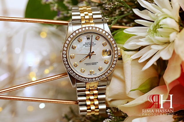 Barsha_Hall_Dubai_Wedding_Female_Photographer_Rima_Hassan_bridal_jewelry_watch_rolex