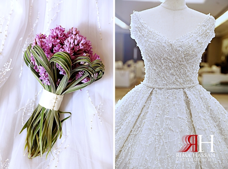 Al_Jawaher_Sharjah_Wedding_Female_Photographer_Rima_Hassan_bride_bouquet_dress