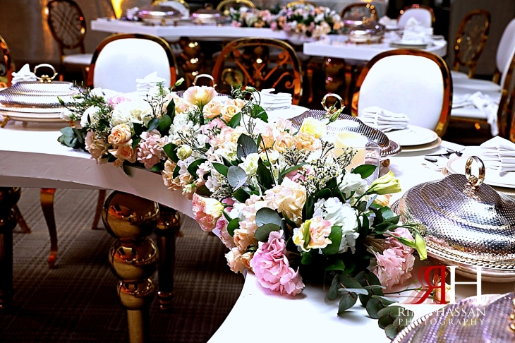 Jawaher_Sharjah_Wedding_Dubai_Female_Photographer_Rima_Hassan_kosha_stage_decoration_cresent_tables