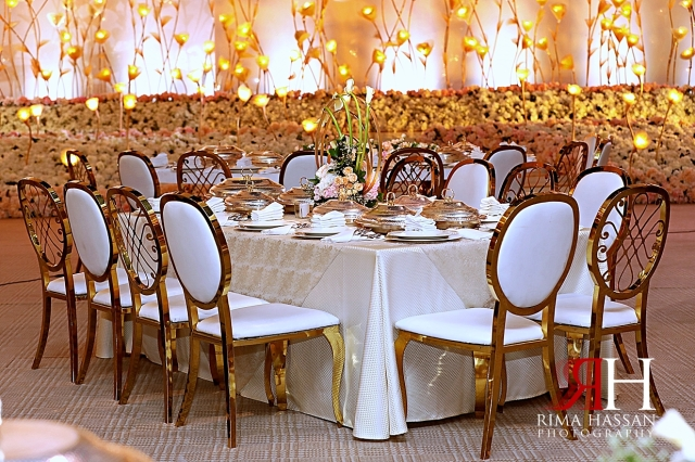Jawaher_Sharjah_Wedding_Dubai_Female_Photographer_Rima_Hassan_kosha_stage_decoration_table