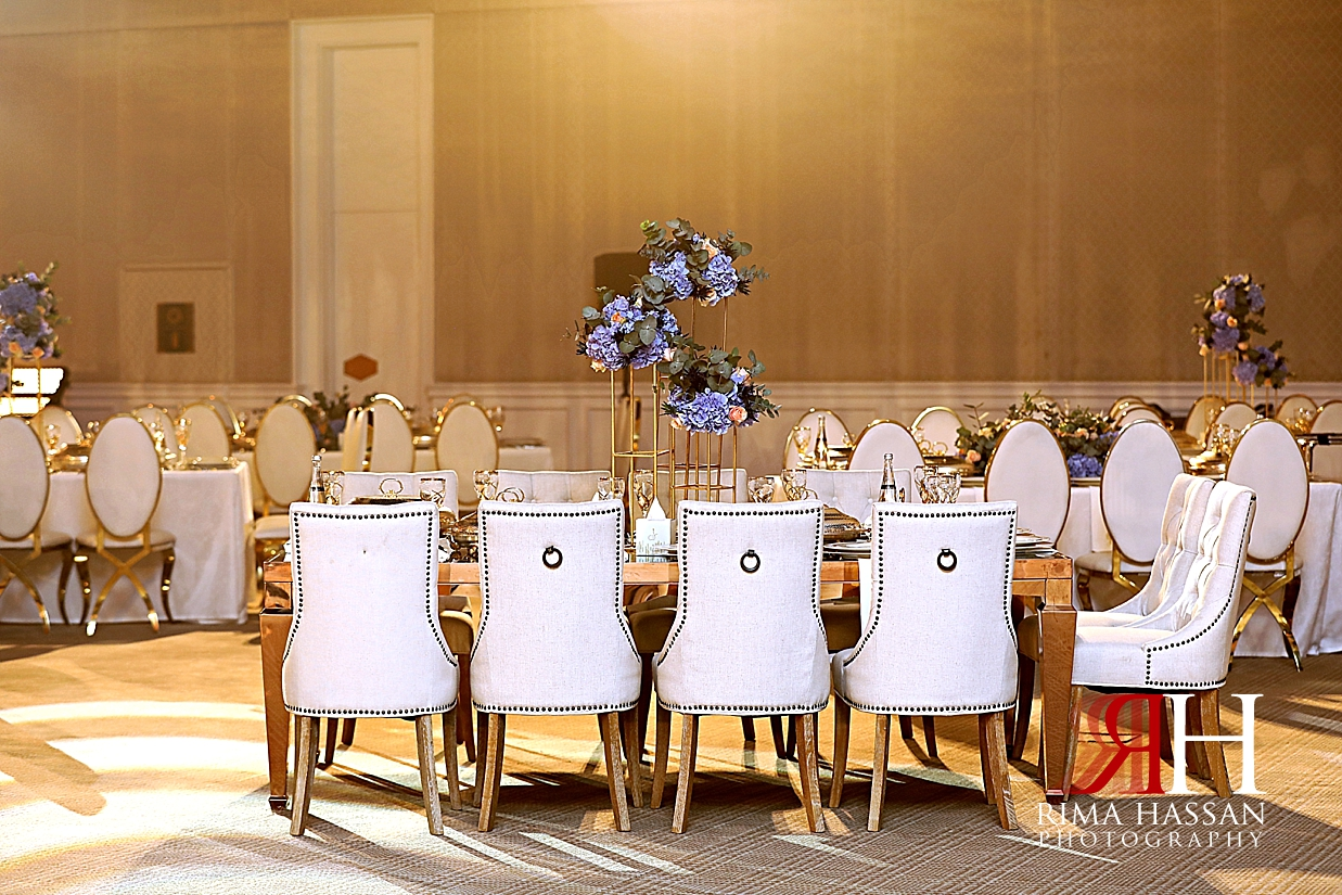 Jawaher_Sharjah_Wedding_Dubai_Female_Photographer_Rima_Hassan_stage_decoration_kosha_blue_chairs