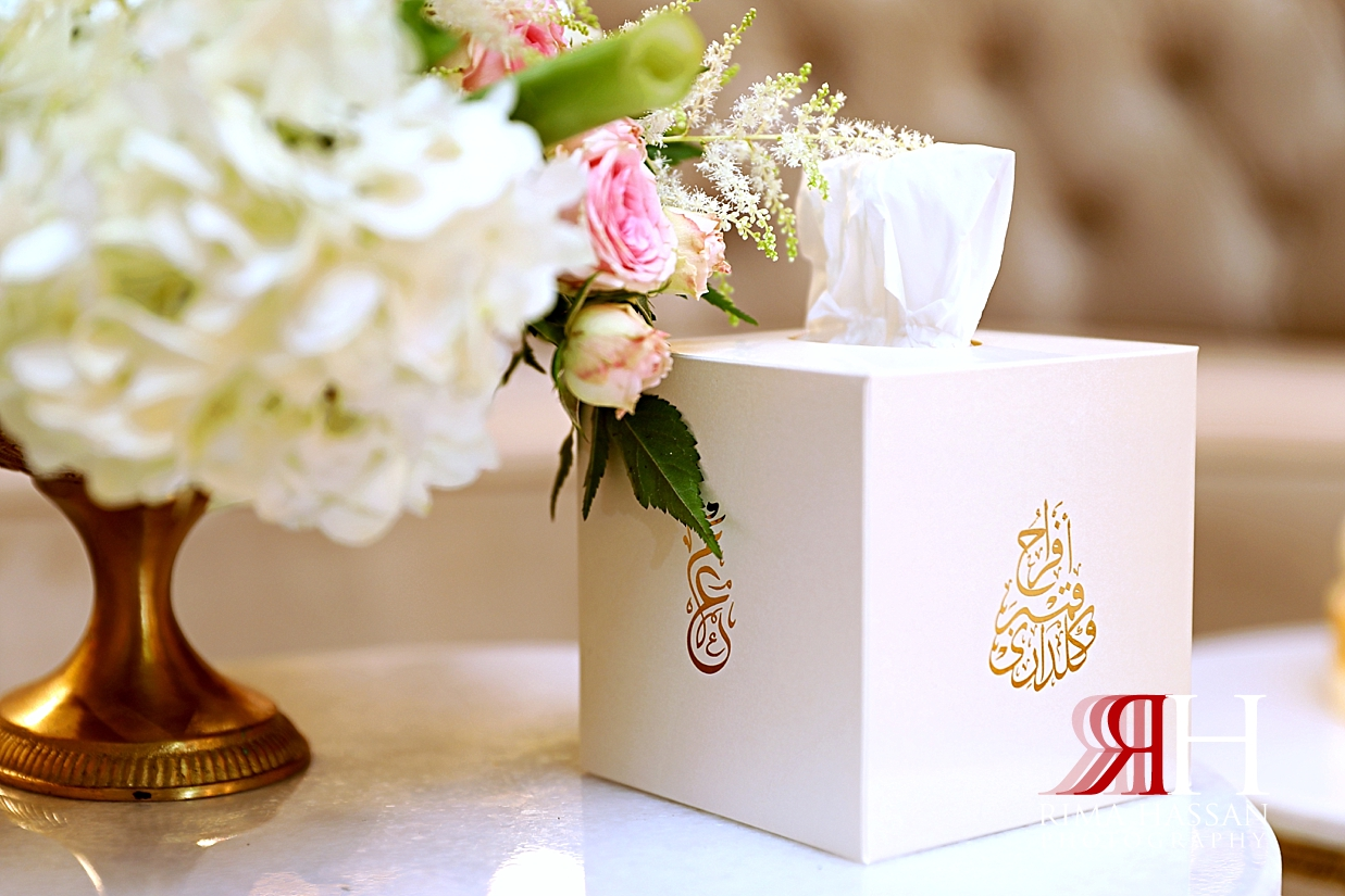Grand_Hyatt_Wedding_Dubai_Female_Photographer_Rima_Hassan_kosha_stage_decoration_tissue_box