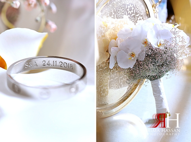 Jawaher_Sharjah_Wedding_Dubai_Female_Photographer_Rima_Hassan_bride_bouquet_groom_ring