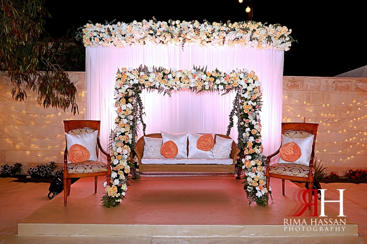 Jumeirah_Pakistani_Engagement_Dubai_Female_Photographer_Rima_Hassan_kosha_decoration_stage