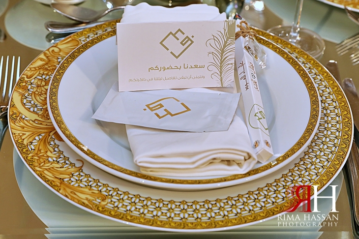 Palazzo_Versace_Wedding_Dubai_Female_Photographer_Rima_Hassan_stage_kosha_decoration_thank_you_cards