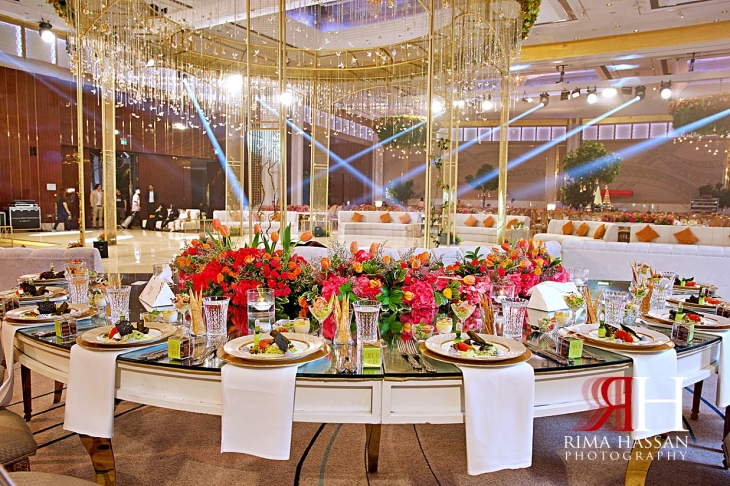 Grand_Hyatt_Dubai_Wedding_Female_Photographer_Rima_Hassan_kosha_stage_decoration_tables