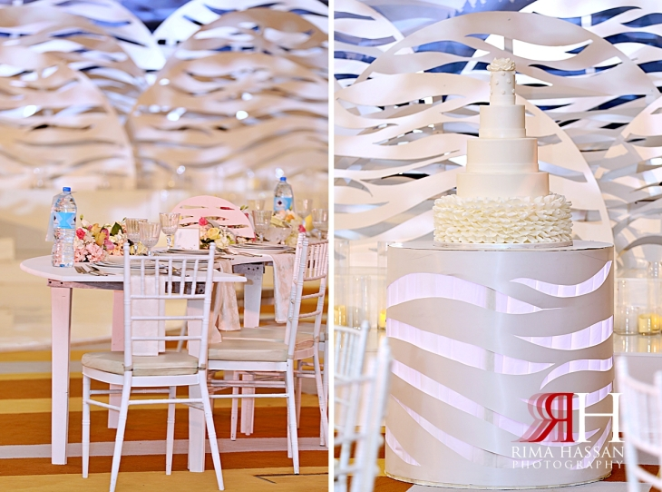Barsha_Dubai_Wedding_Female_Photographer_Rima_Hassan_kosha_stage_decoration_cake_table